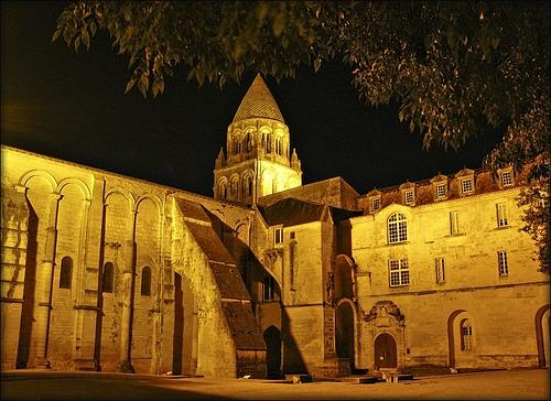 L'abbaye aux dames de Saintes