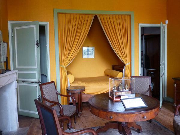 La chambre de Napoléon à l'ile d'Aix
