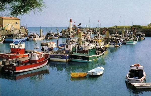 La Cotiniere port de peche de l'ile d'Oleron