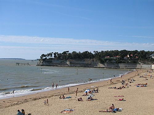 La grande plage de Fouras