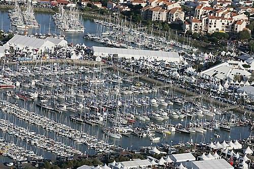 Le port des Minimes à La Rochelle