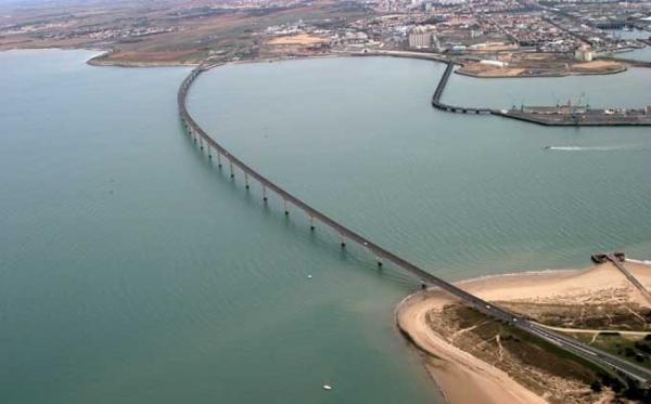 Le pont de l'ile de Ré