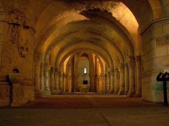 Les cryptes romaine de Saintes