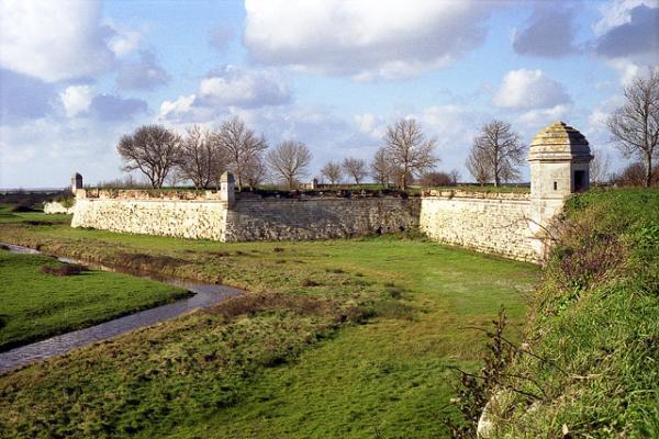 Les remparts de Brouage