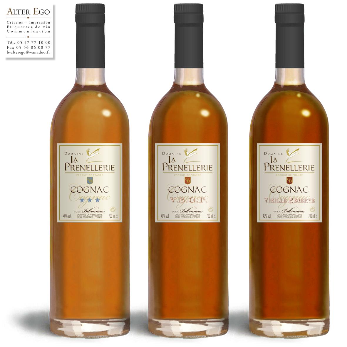 Pineau, Cognac et vin de pays SCEA Billonneau
